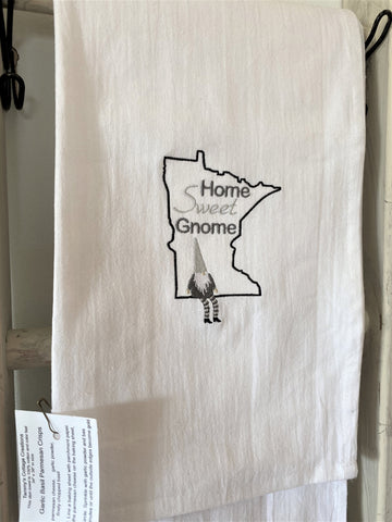 Minnesota Tea Towel from Art 2 Heart Gift Shop in Hamel MN