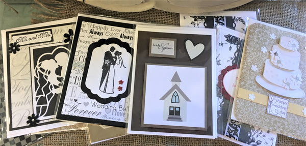 Handcrafted Wedding Cards at Art 2 Heart in Hamel MN