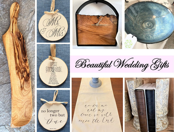 Beautiful Wedding Gifts for 2021 at Art 2 Heart Gift Shop in Hamel MN