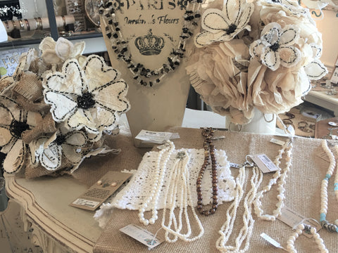 Pearls and Keepsake Flowers at Art 2 Heart