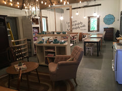 Cozy space for scrapbooking, stamping, crafting, discussing life - at Wonderfully Made Studio - Hamel MN