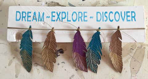 Dream Feather Wall Art at Art 2 Heart