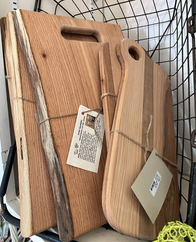 Wooden Charcuterie Platters from Art 2 Heart Gift Shop in Hamel MN