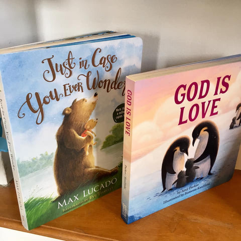 Christian books for children at Art 2 Heart Gift Shop in Hamel MN