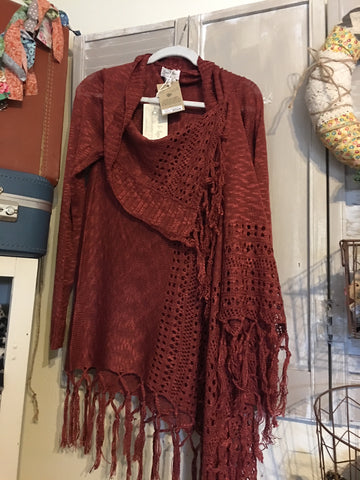 Grace and Lace Wrap Sweater at Art2Heart in Hamel MN
