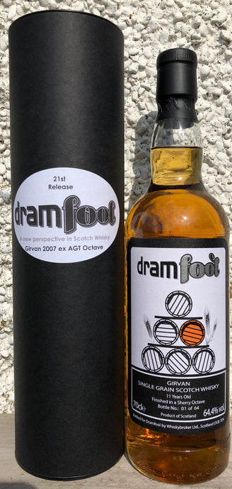 Dramfool Girvan 11 years old ex-Islay sherry octave