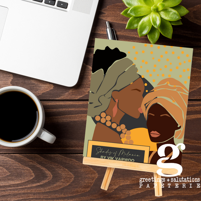 Shades of Melanin 2021 Easel Desk Calendar