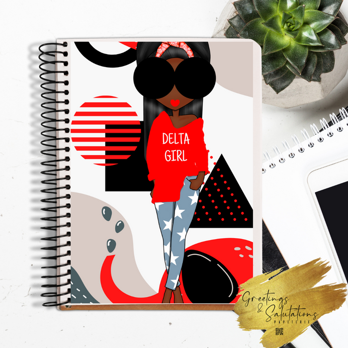 Delta Girl Notebook