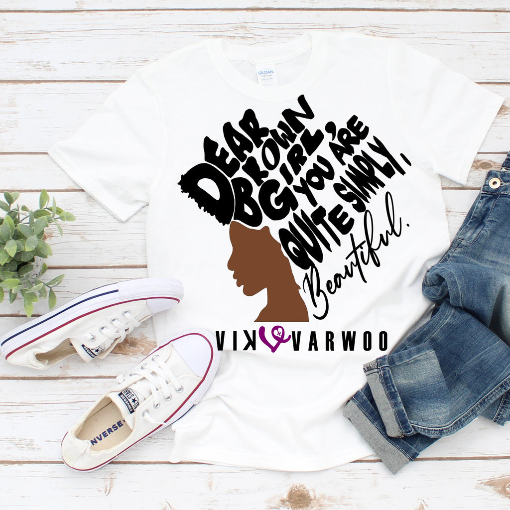 Dear Brown Girl Tee