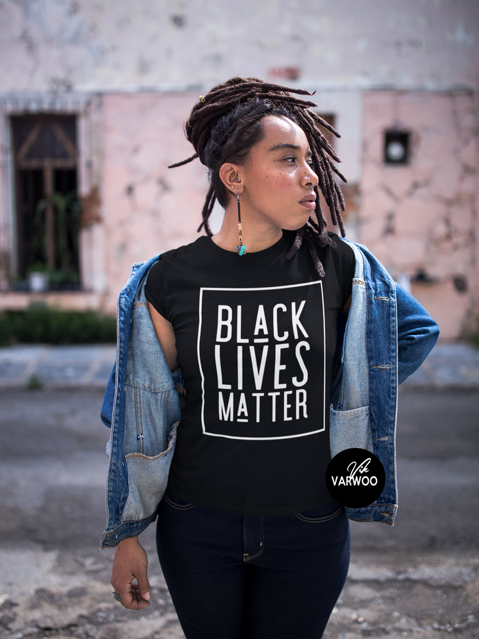 Black Lives Matter (Square Design) Tee