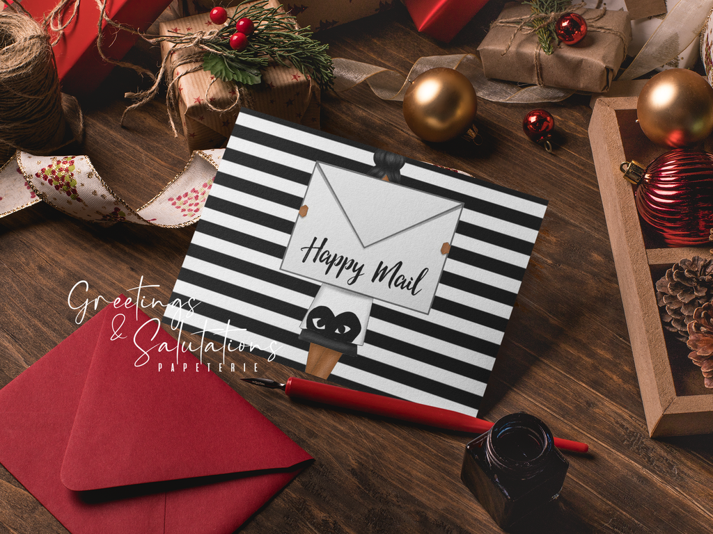 Happy Mail Notecard Set