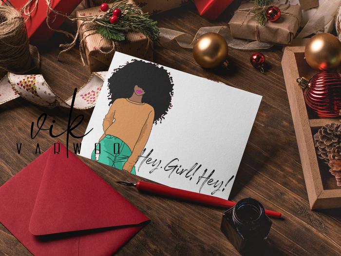 Hey Girl, Hey Note Card Set