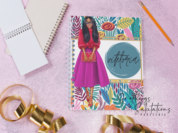2021 City Girls Personalized Planner