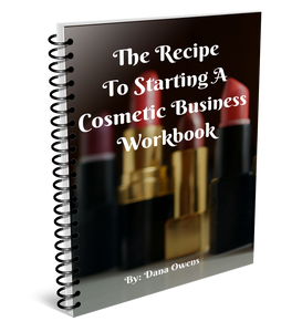 Starting a Cosmetic Business Workbook(Hard Copy)
