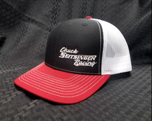 CSR Snapback Mesh Hat Black/White/Red