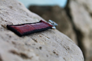 Brown Croc Key Holder-ChristophLeather.com-ChristophLeather.com