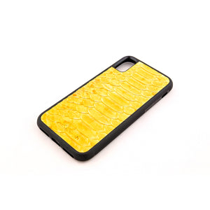 Limited Edition Yellow Python Leather Case