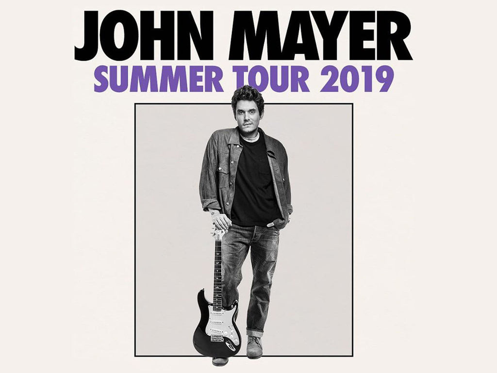 John Mayer Summer Tour 2019