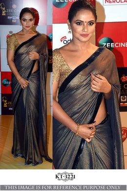 Awesome Designer Multi Color Import Sillk Saree