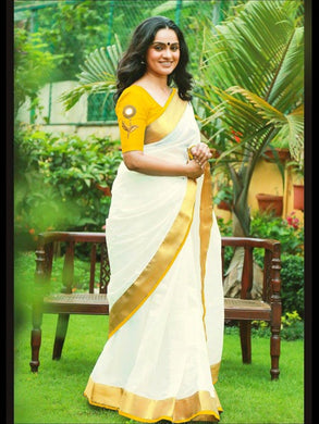 Yellow Color Super Hit Design Cotton Saree