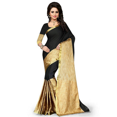 Black And Beige Colour Saree Exclusive Beautiful Designer Bolywood Indian Partywear Sari 951