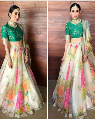 Designer Tissue Fabric Bollywood Look Circula Lehenga Choli