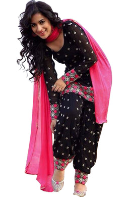 Black Salwar Anarkali