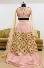 New Collection Cream Colour  Noora Silk Lehenga
