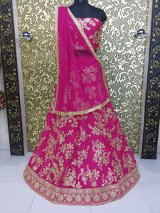 New Collection  Pink Colour  Heavy Embroiderey Work  Salwar Suit