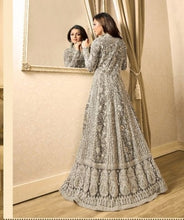New Collection White Colour  Havet Net +embroidery Work Salwar Suit