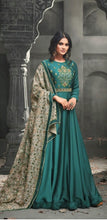 New Collection  Havey Tikona Silk Satin With  Embroidery Work Salwar Suit