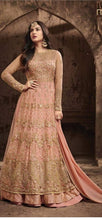 New Collection Orange Colour Heavy Net+with Embroidery Work  Salwar Suit
