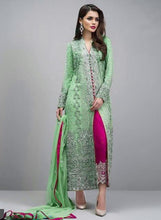 New Collection Green Colour Georgette With Heavy Embroidery Work Salwar Suit