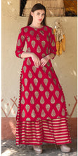 New Collection Red Colour  Pure Ryon  Salwar Suit