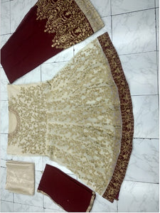 New Collection Maroon Colour  Georgette & Santoon  Salwar Suit
