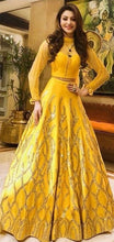 New Collection Yellow Colour  Bagalory Satin Lehenga