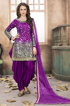 New Collection Wine Colour   Heavy Tapeta Silk Salwar Suit