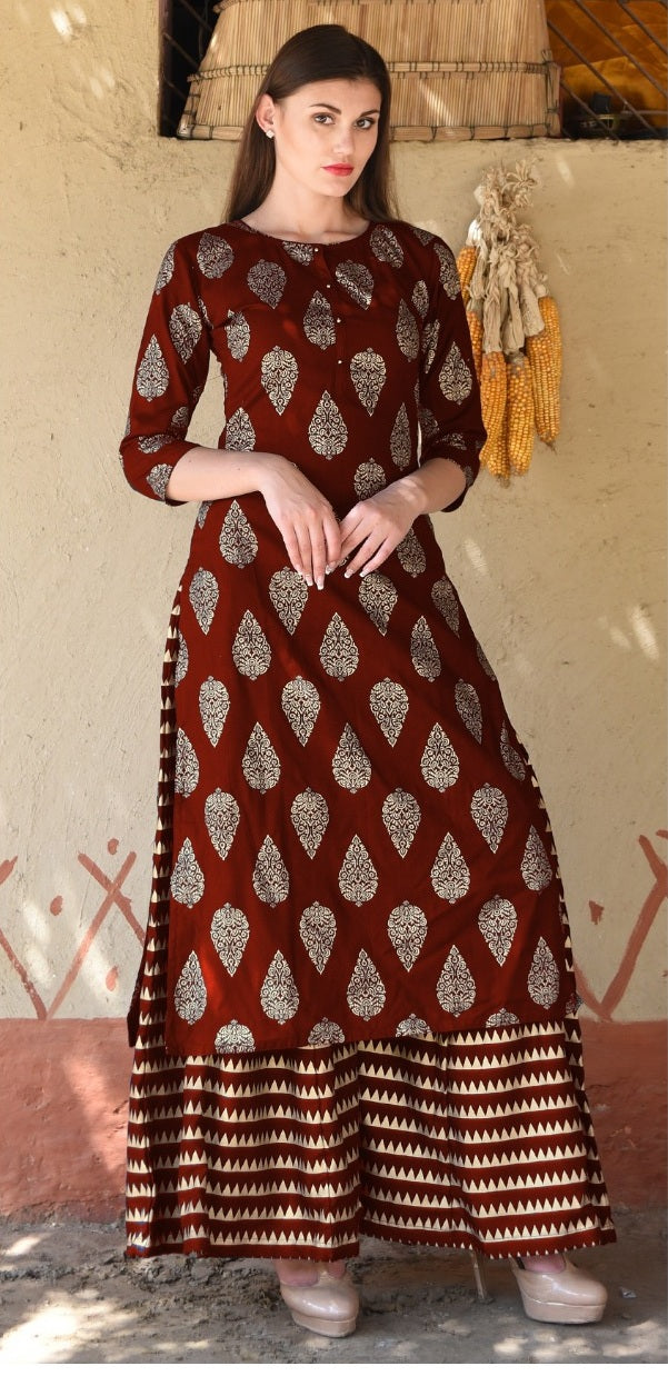 New Collection Maroon Colour  Pure Ryon  Salwar Suit
