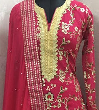 Bollywood Style Pink Colour Georgette Salwar Suit