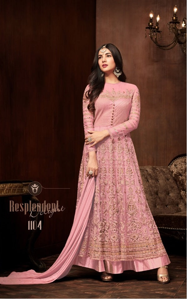 bb424bba2841d ... Pink Colour New Indian/pakistani Salwar Kameez Bollywood Ethnic Wear  Traditional Anarkali Suit