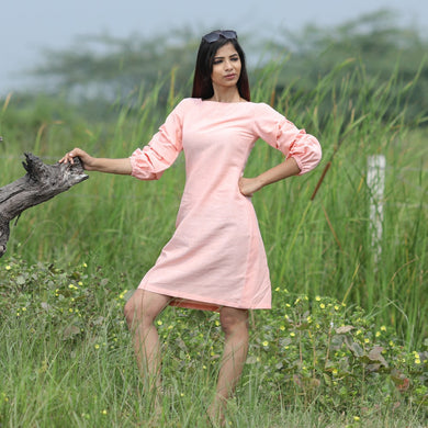 Attractive Designer Women's Heavy Khadi Cotton Plain Kurti