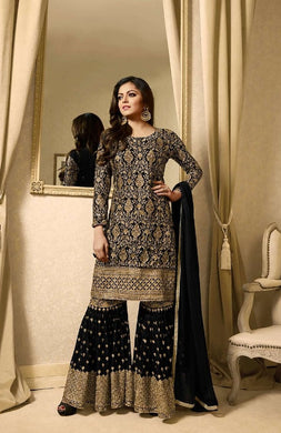 Atractive Bollywood Style Designer Heavy Georgette With Embroidery Work Salwar Suit