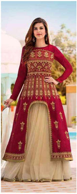 Atractive Bollywood Style Designer Bangalori Silk With Embroidery Work Designer Lahenga