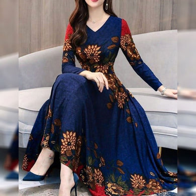 Blue Colorbollywood Styledesiner Wear Gown