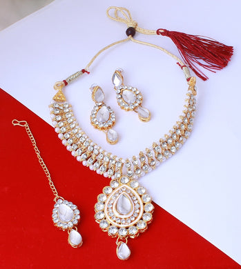 Alloy Metal Traditional Necklace For Women