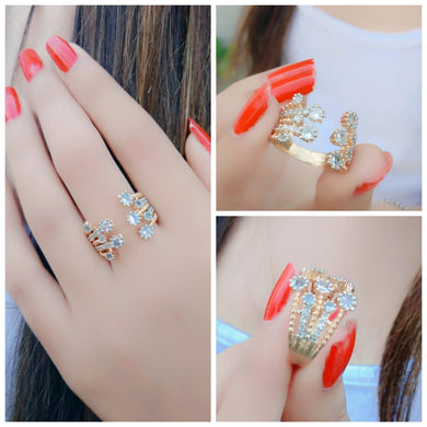 Bollywood Designer Diamond Traditional Ring For Women
