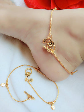 Exclusive Gold Designer Anklet