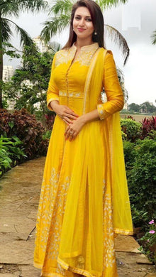 Best Look Yellow Georgette Salwar Suit