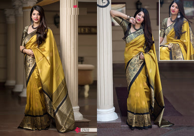 Catalog New Collection Latest Designer Heavy Patola Banarasi Silk Saree