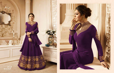 Catalog New Latest Georgette Gown Anarkali Suit